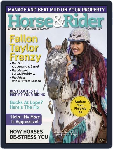Horse & Rider December 1st, 2016 Digital Back Issue Cover