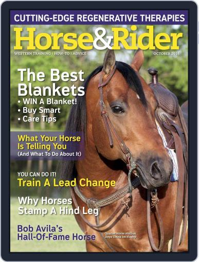 Horse & Rider (Digital) October 1st, 2016 Issue Cover