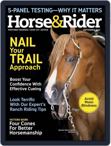 Horse & Rider (Digital) August 16th, 2016 Issue Cover