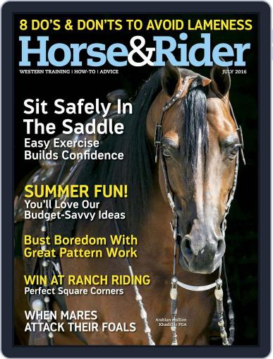 Horse & Rider (Digital) June 21st, 2016 Issue Cover