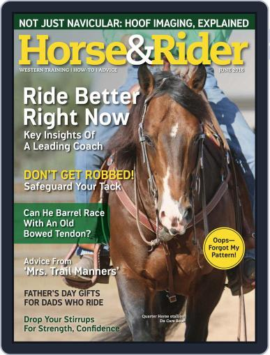Horse & Rider (Digital) May 17th, 2016 Issue Cover