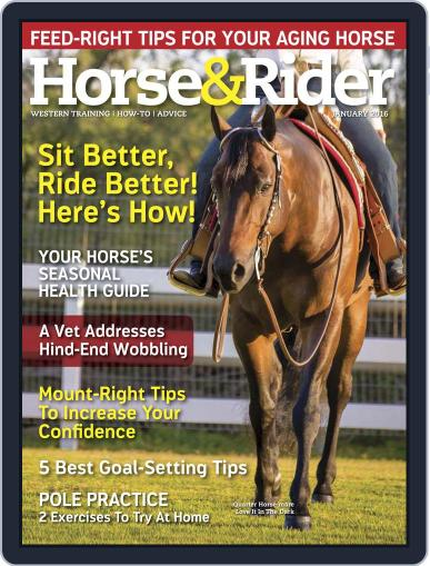 Horse & Rider December 22nd, 2015 Digital Back Issue Cover