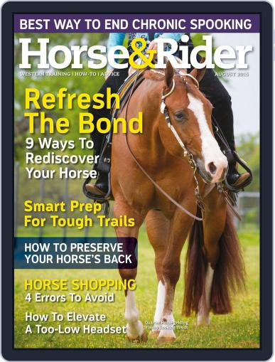 Horse & Rider (Digital) July 21st, 2015 Issue Cover