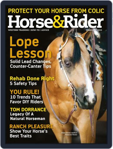 Horse & Rider (Digital) February 1st, 2015 Issue Cover