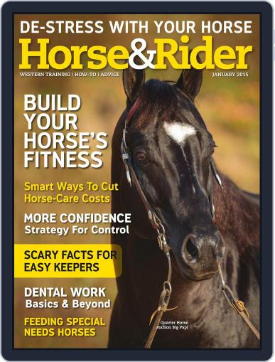 Horse & Rider January 1st, 2015 Digital Back Issue Cover