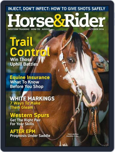 Horse & Rider (Digital) September 30th, 2014 Issue Cover