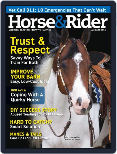 Horse & Rider (Digital) July 29th, 2014 Issue Cover