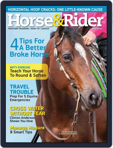 Horse & Rider (Digital) June 24th, 2014 Issue Cover