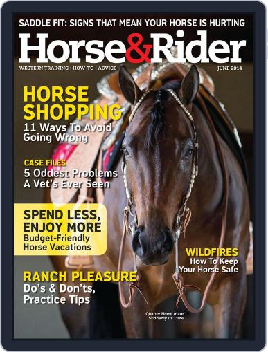 Horse & Rider May 27th, 2014 Digital Back Issue Cover