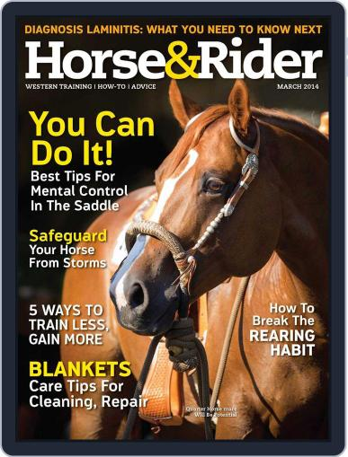Horse & Rider (Digital) February 27th, 2014 Issue Cover