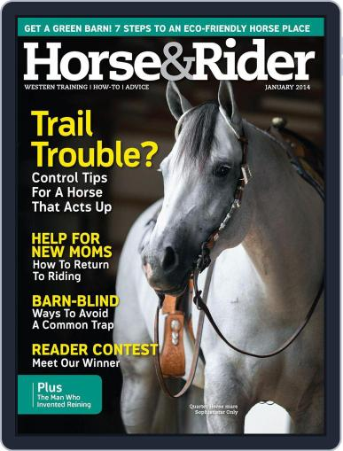 Horse & Rider December 24th, 2013 Digital Back Issue Cover