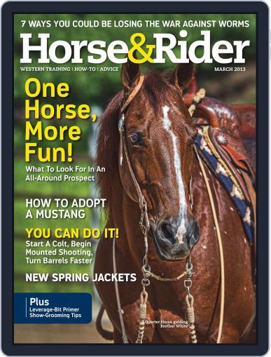 Horse & Rider February 19th, 2013 Digital Back Issue Cover