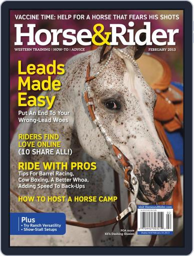 Horse & Rider (Digital) January 22nd, 2013 Issue Cover