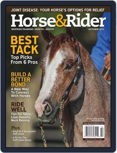 Horse & Rider (Digital) September 10th, 2012 Issue Cover