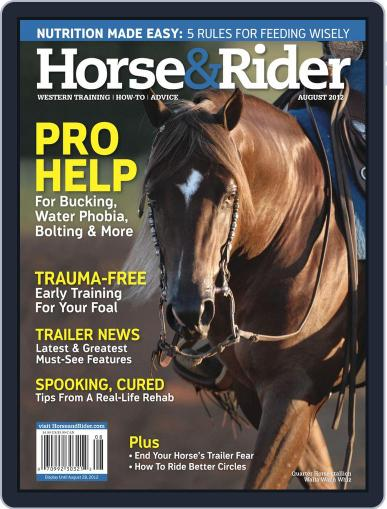 Horse & Rider (Digital) July 9th, 2012 Issue Cover