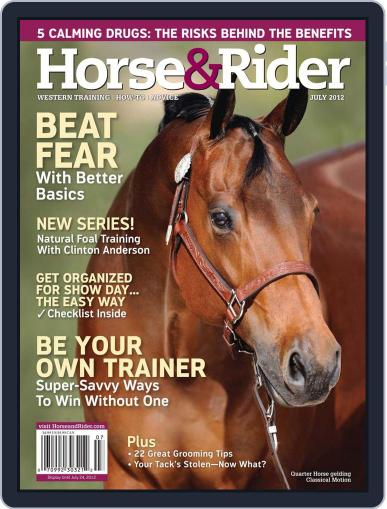 Horse & Rider July 1st, 2012 Digital Back Issue Cover