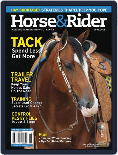 Horse & Rider May 14th, 2012 Digital Back Issue Cover
