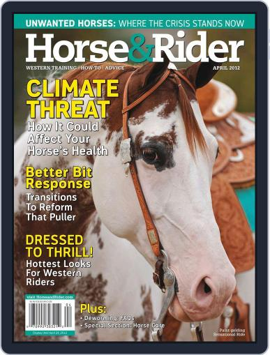 Horse & Rider (Digital) March 12th, 2012 Issue Cover
