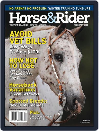 Horse & Rider January 9th, 2012 Digital Back Issue Cover