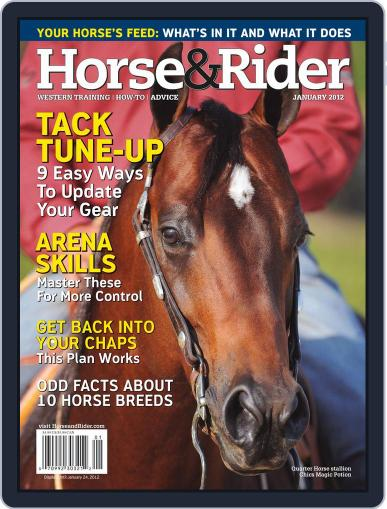 Horse & Rider (Digital) December 12th, 2011 Issue Cover