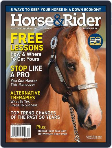 Horse & Rider (Digital) November 29th, 2011 Issue Cover