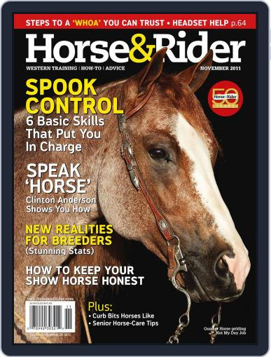 Horse & Rider October 25th, 2011 Digital Back Issue Cover