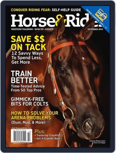 Horse & Rider (Digital) September 27th, 2011 Issue Cover
