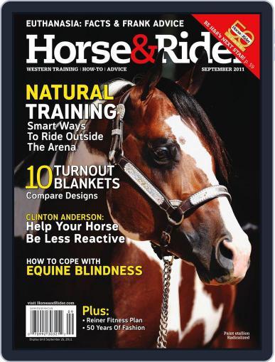 Horse & Rider September 7th, 2011 Digital Back Issue Cover