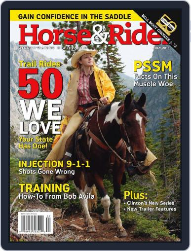 Horse & Rider (Digital) June 28th, 2011 Issue Cover