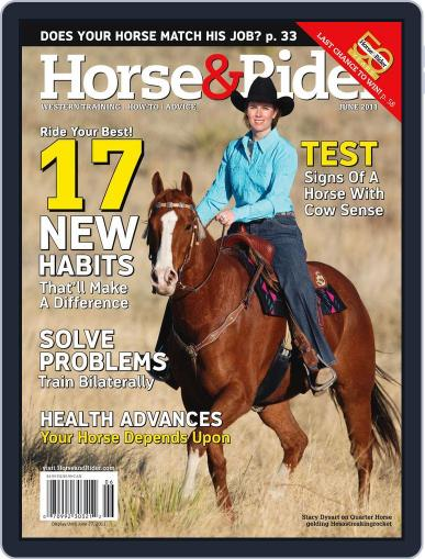 Horse & Rider (Digital) May 31st, 2011 Issue Cover