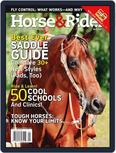 Horse & Rider (Digital) April 27th, 2011 Issue Cover