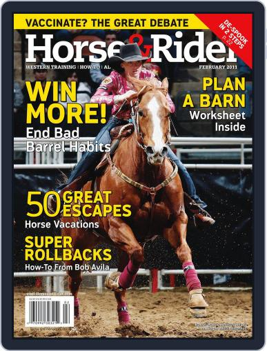 Horse & Rider (Digital) January 25th, 2011 Issue Cover