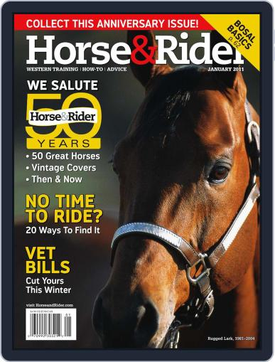 Horse & Rider (Digital) December 15th, 2010 Issue Cover