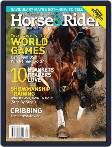 Horse & Rider (Digital) August 15th, 2010 Issue Cover