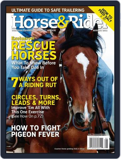 Horse & Rider July 15th, 2010 Digital Back Issue Cover