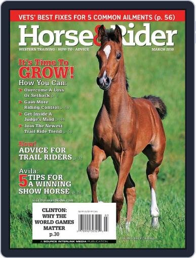 Horse & Rider February 12th, 2010 Digital Back Issue Cover