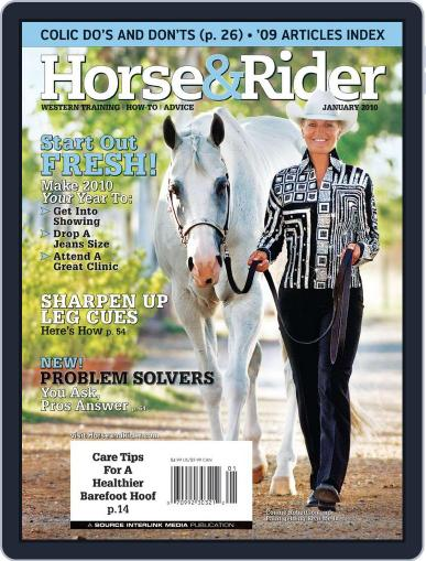 Horse & Rider (Digital) December 22nd, 2009 Issue Cover