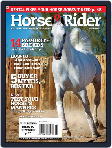 Horse & Rider (Digital) May 26th, 2009 Issue Cover
