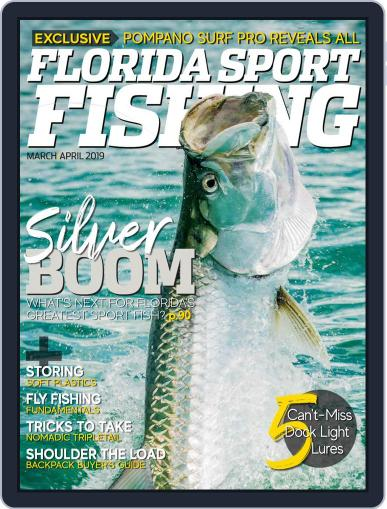Florida Sport Fishing March 1st, 2019 Digital Back Issue Cover