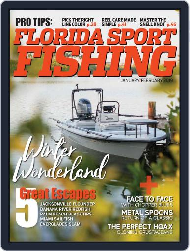 Florida Sport Fishing (Digital) January 1st, 2019 Issue Cover