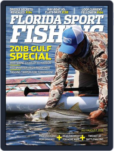 Florida Sport Fishing (Digital) July 1st, 2018 Issue Cover