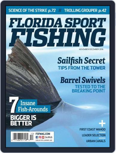 Florida Sport Fishing November 1st, 2016 Digital Back Issue Cover