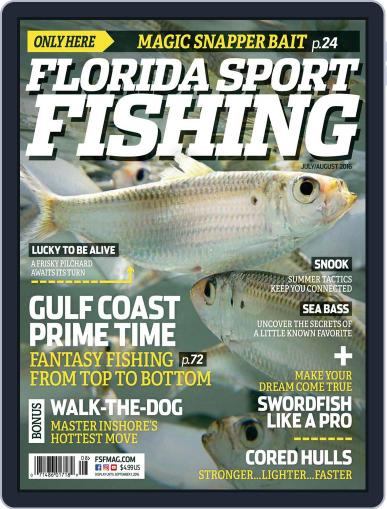 Florida Sport Fishing (Digital) July 1st, 2016 Issue Cover