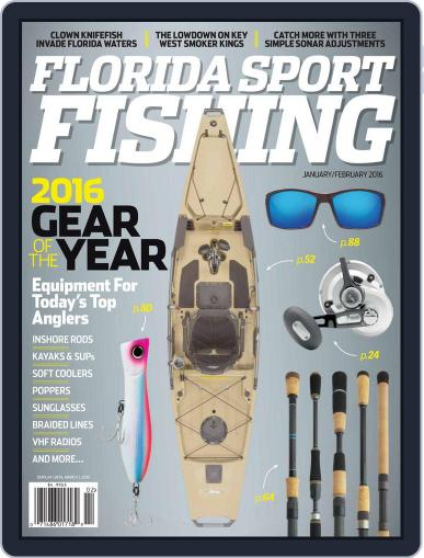 Florida Sport Fishing December 16th, 2015 Digital Back Issue Cover