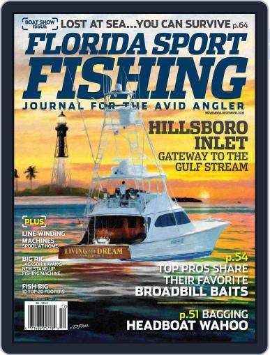 Florida Sport Fishing November 1st, 2015 Digital Back Issue Cover