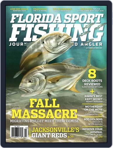 Florida Sport Fishing September 1st, 2015 Digital Back Issue Cover
