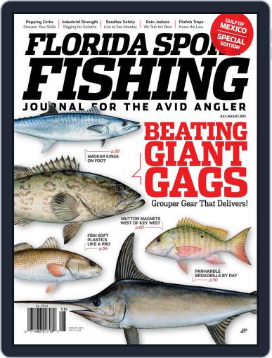 Florida Sport Fishing July 1st, 2015 Digital Back Issue Cover