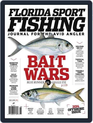 Florida Sport Fishing April 28th, 2014 Digital Back Issue Cover