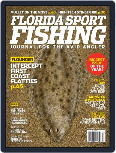 Florida Sport Fishing August 28th, 2013 Digital Back Issue Cover
