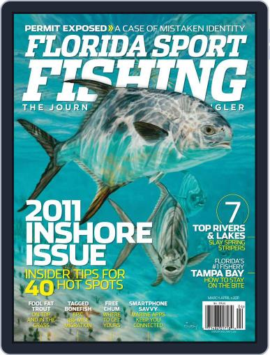 Florida Sport Fishing March 1st, 2011 Digital Back Issue Cover